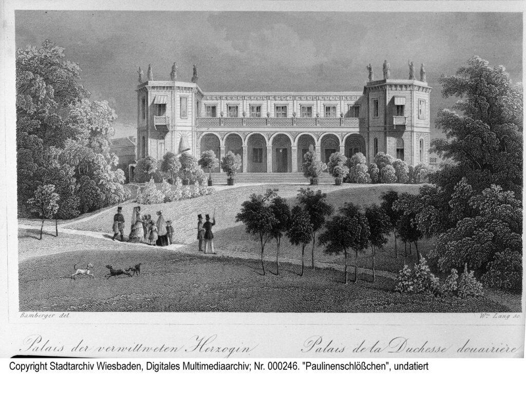 Stadtarchiv Wiesbaden, Paulinenschlösschen Wiesbaden